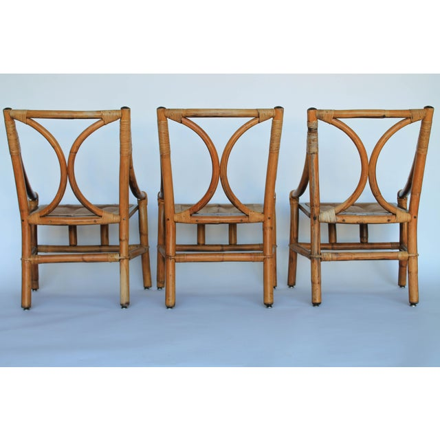 Ficks Reed Dining Chairs - Set of 6 - Image 7 of 8