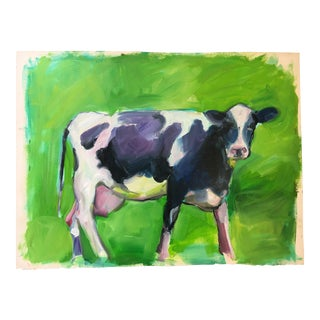 """Lily the Cow"" Oil Painting"