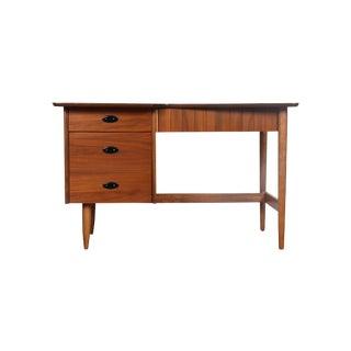 Hooker Mid-Century Walnut & Veneer Desk
