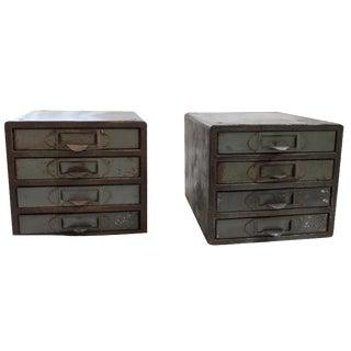 Industrial Metal Storage Desktop Cabinets