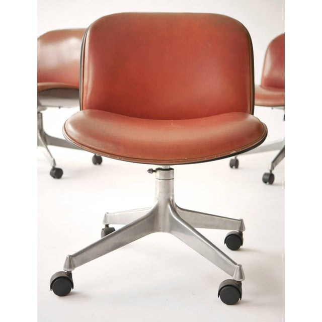 Ico Parisi Office Chair for Mim - a Pair - Image 3 of 5