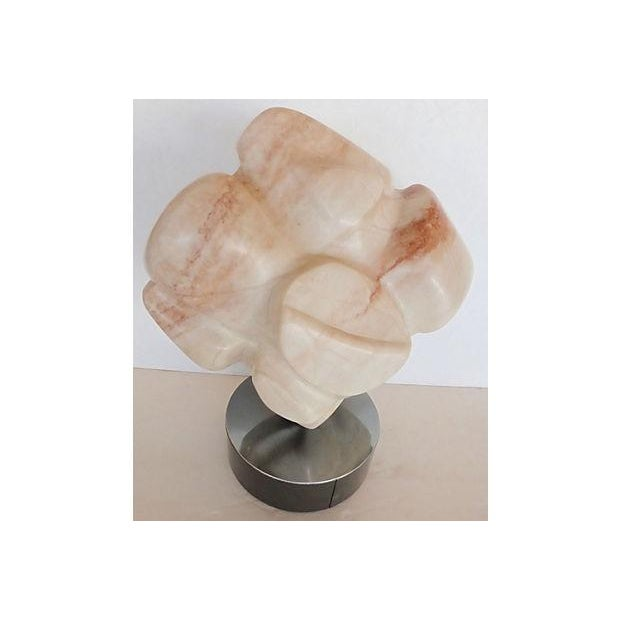 Image of Polished Marble Abstract Sculpture