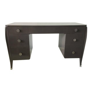 Stained Wood French Deco Style Desk by Widdicomb