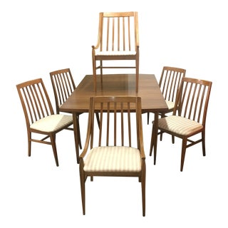 Mid-Century Dining Set by Hooker - Set of 7