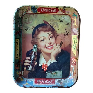 Vintage Coca Cola Tin Tray