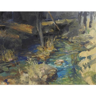 Rocky Stream in Texas Hill Country Plein Air