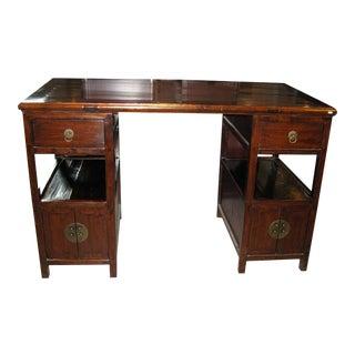 Antique Chinese Partner Desk