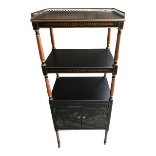 Asian Black Etagere