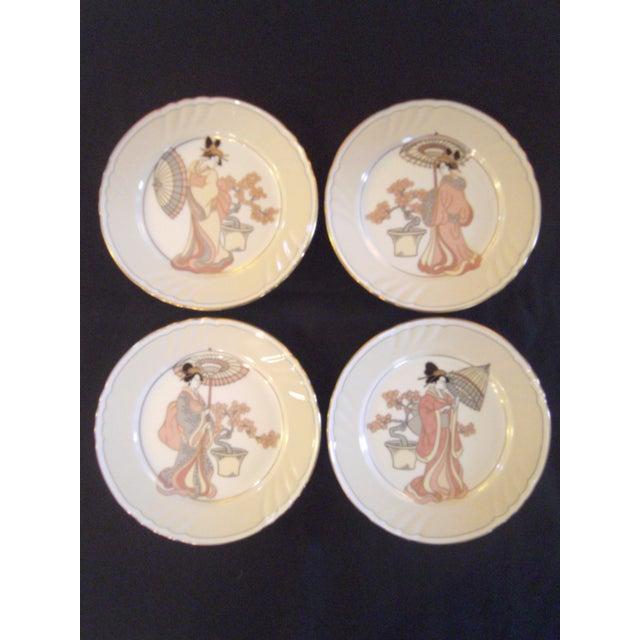 Vintage Fitz & Floyd Plates - Set of 8 - Image 3 of 8