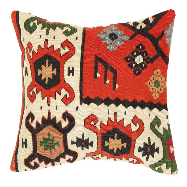 Image of Pasargad Decorative Vintage Kilim Pillow