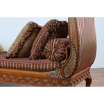 Image of Swan Carved Chaise Lounge