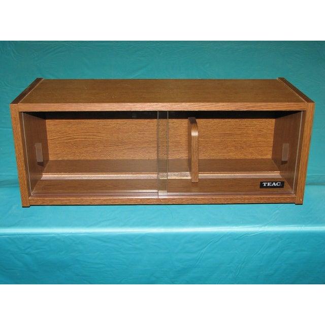Vintage Danish Teac CD Cabinet - Image 2 of 7