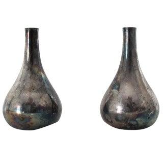 Dansk Teardrop Candleholders - A Pair