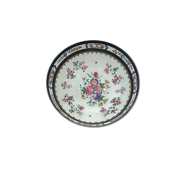 Large 19th-C French Porcelain Bowl - Image 3 of 6
