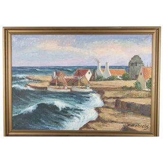 Painting of Two Boats