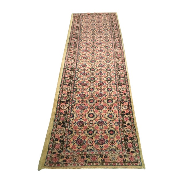 Vintage Egyptian Hand-Tied Wool Rug - 3′9″ × 6′8″ - Image 1 of 6