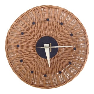 George Nelson Basket Clock