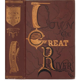 """Down the Great River"" Victorian Book"
