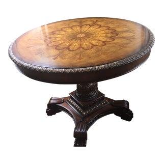 Maitland- Smith Mahogany Center Table