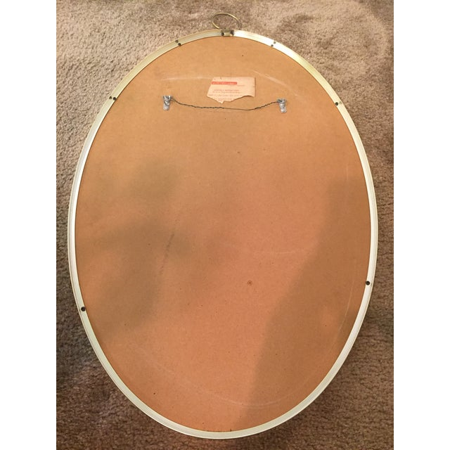 Image of Vintage Oval Wall Mirror