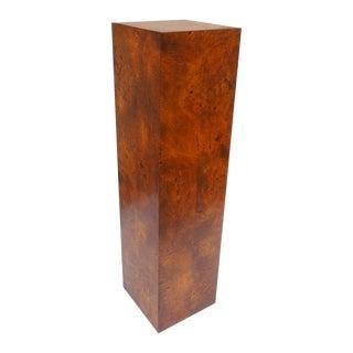 Birdseye Maple Display Pedestal