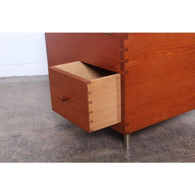 Hans Wegner Teak Cube Bar - Image 7 of 10
