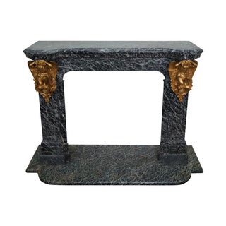 Antique French Marble Mantel
