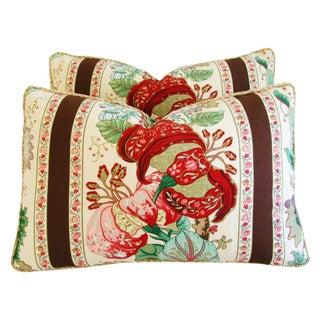 Brunschwig & Fils Portugaise Pillows - Pair