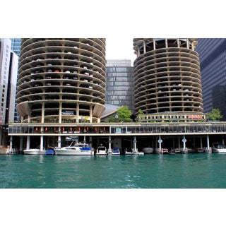 Marina City - Chicago River Photograph