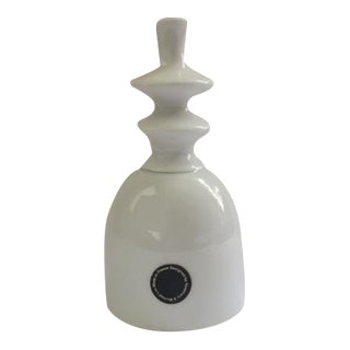 Rosemary & Michael Lax White Porcelain Bell