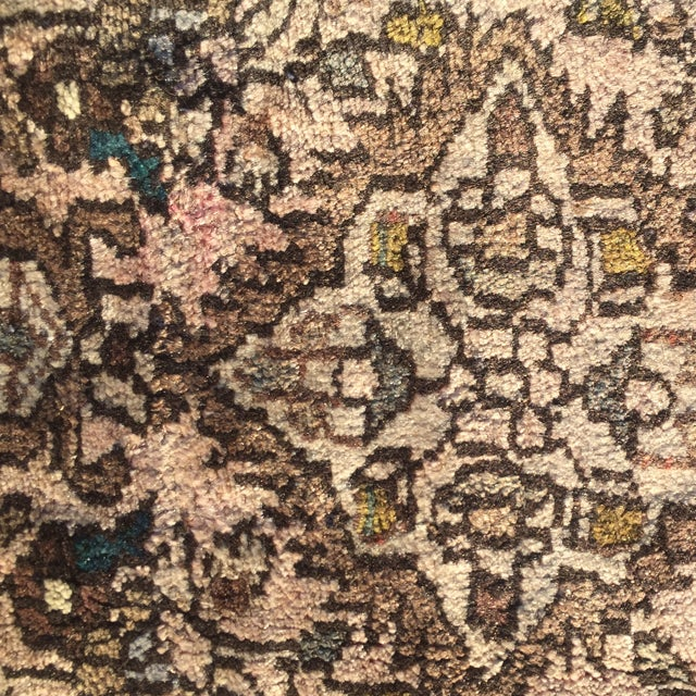 "Hamadan Persian Rug - 1'9"" X 2'10"" - Image 8 of 8"