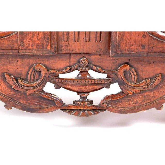 French Provençal Fruitwood Buffet With Carved and Pierced Skirt - Image 4 of 10