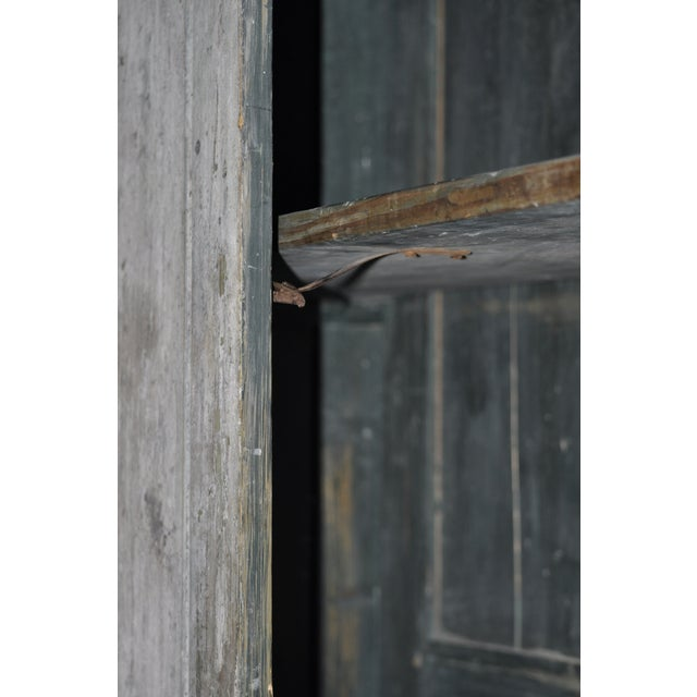 19th Century Painted Armoire - Image 5 of 5