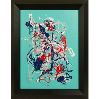 Contemporary Abstract Expressionist Painting by Michael Karr