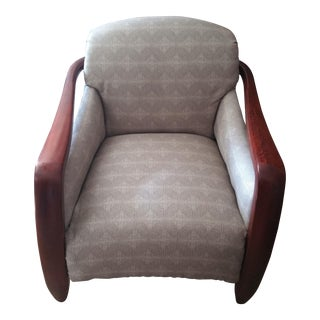 Sam Moore Art Deco Style Club Chair