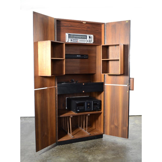 Richard Thompson Stereo Cabinet or Bar by Glenn of California - Image 7 of 11