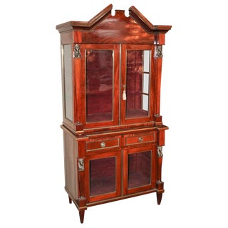 19th c. Russian Neoclassical Vitrine