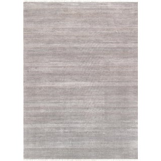 "Pasargad Transitional Silk & Wool Rug - 9' 9"" X 13' 8"""