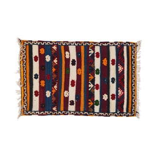 Multi-Color Small Moroccan Berber Rug - 2′3″ × 3′4″