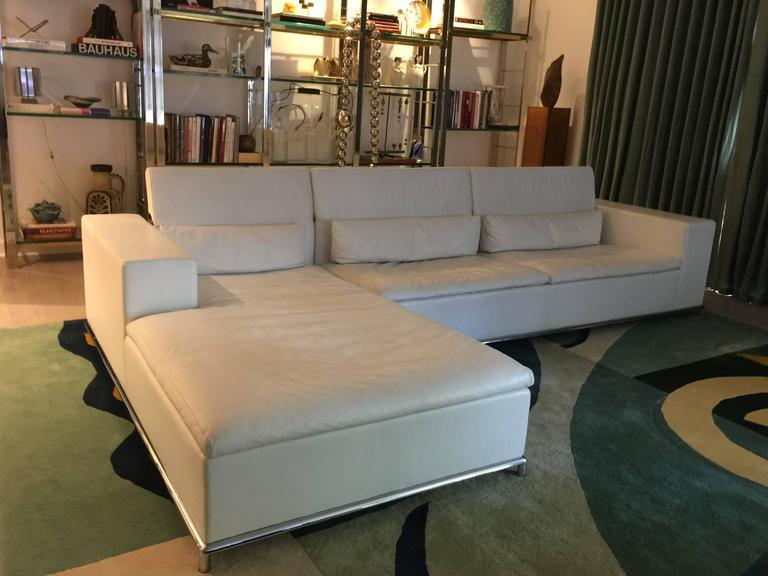 ds7 for de sede modular white leather sectional by antonella scarpitta image 9