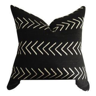 Black & White Arrow Mud Cloth Pillow Cover