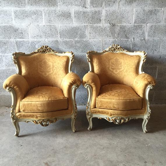 Baroque Armchairs - A Pair - Image 2 of 6