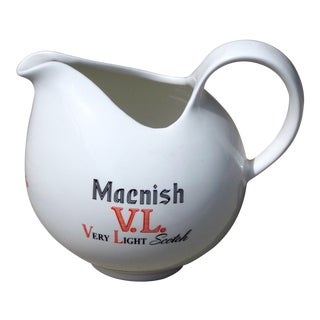 Vintage Eva Zeisel Macnish V.L. Scotch Whiskey Pitcher