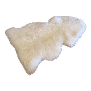 "Vintage New Zealand Sheepskin Rug - 2'6"" x 3'7"""
