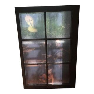 "Renaissance Window Painting - 42"" x 35"""