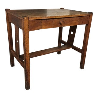 Rustic Teak Wood Desk