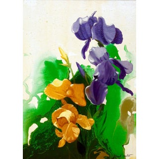 "Conrad Moulton ""Irises"" Giclee Print of the Painting"