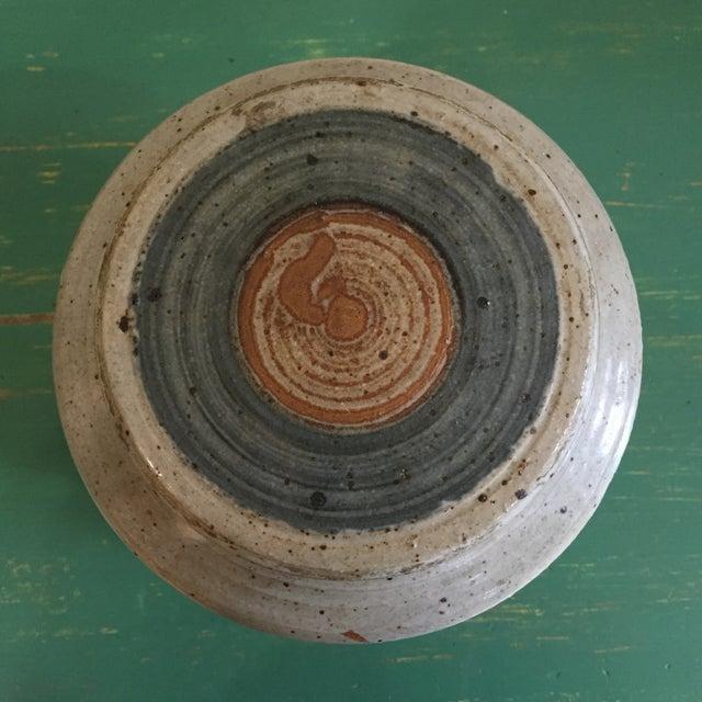 Hand Thrown Earthenware Cookie Jar - Image 3 of 6