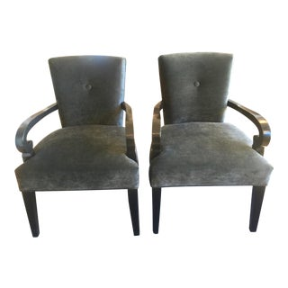 Transitional Occasional Chairs - A Pair