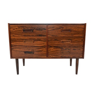 Danish Modern Six Drawer Rosewood Chest